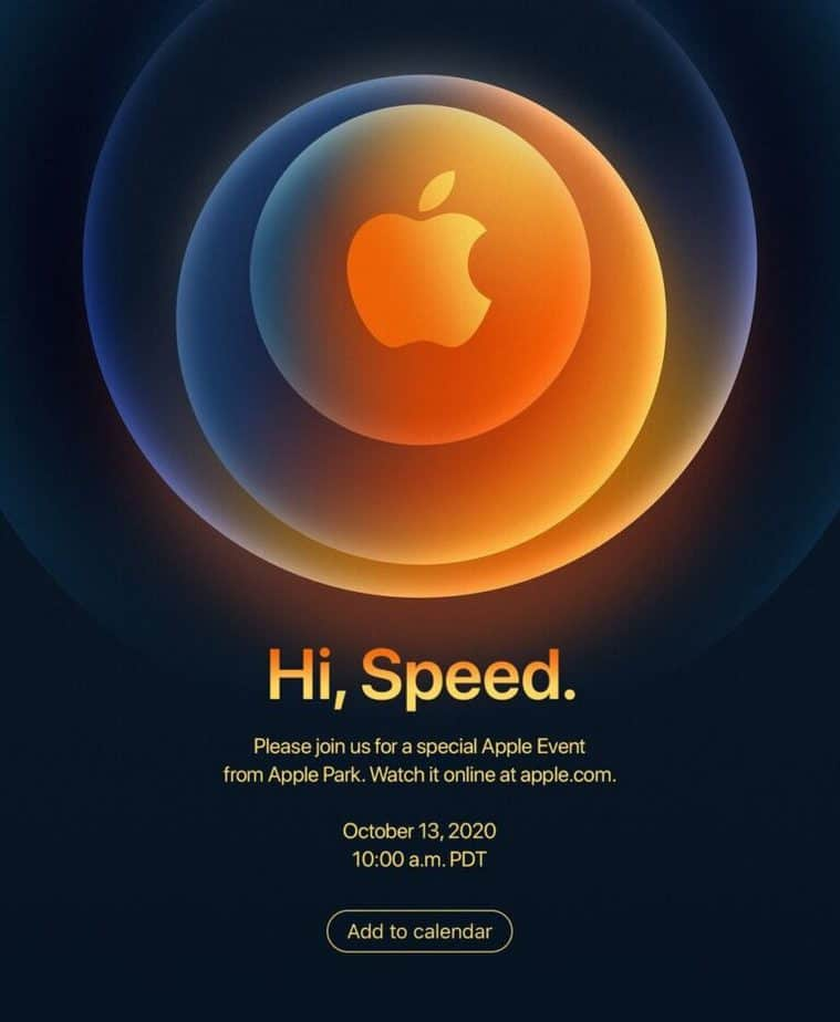 When and how to watch the 2020 Apple iPhone 12 5G October event live stream