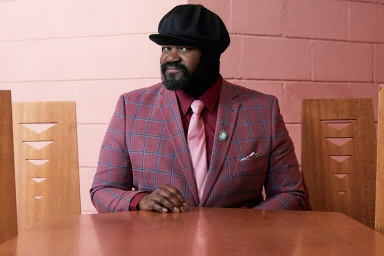 Why does Gregory Porter wear a hat